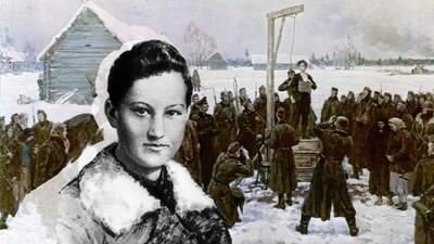 Зоя Анатольевна Космодемьянская (Таня).